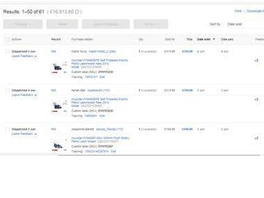 Ebay Orders Fulfillment
