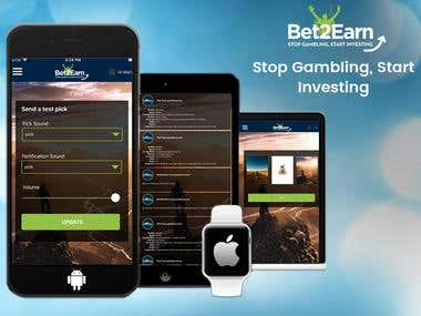 Bet2Earn Apps