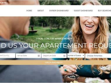 Web Application ( Airbnb clone ) with all features