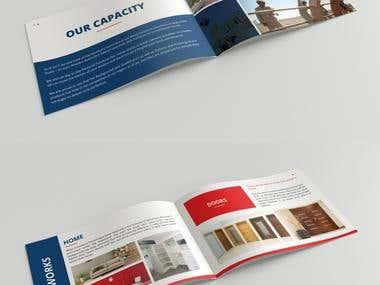 Brochure for Interior Company