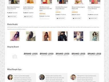 Ecommerce Website | Kwear is a very attractive website