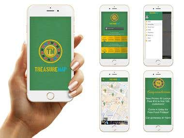 Treasuremap Android and iPhone App