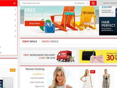Ecommerce Website | is a very attractive website