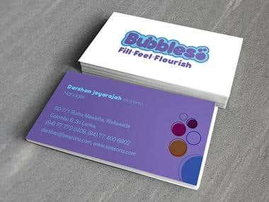 Bubbles branding