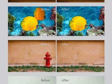 REMOVING OBJECTS - photoshop editing
