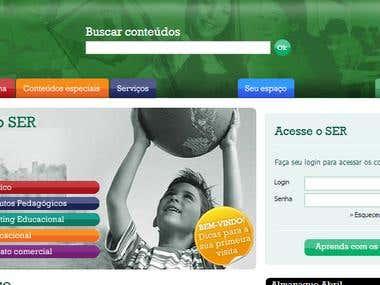 Portal de Sistema  de Educação
