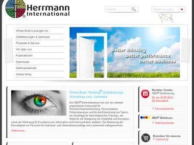 Herrmann Website