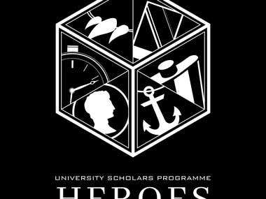 'Heroes' Logo/Shirt Design
