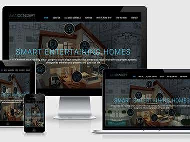 Home Automation Website - Developed By TheAppIdeas