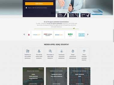 Genc Sigorta Website Project
