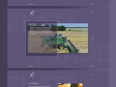 A website for successful grain trader of Ukraine.