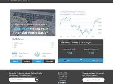 DonDirect Website Design