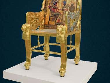 Tutankhamun's chair