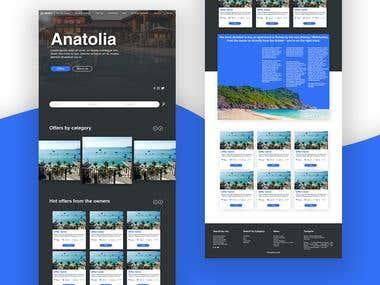 Anatolia - UI design