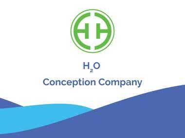 H2O minimal Logo