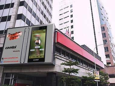Street Signage & Billboard