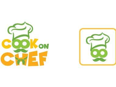 Cook On Chef logo design