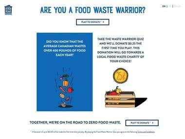 River Road Bakehouse - Food Waste Warrior Quiz
