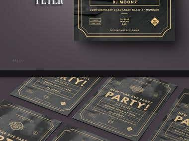 Bar Party Flyer