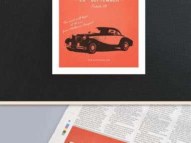 Vintage Car Show Flyer