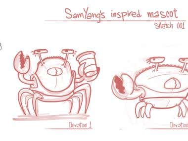SamYang inspired Mascot - Sketch