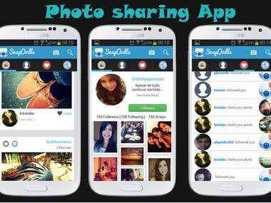 Photo Sharing app.