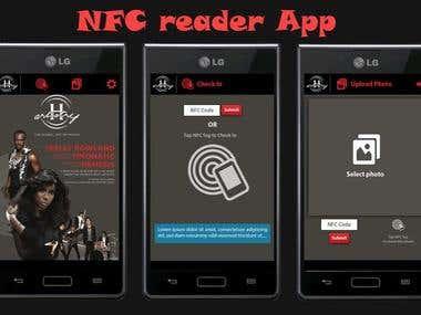 NFC Reader app.
