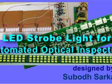 LED Strobe Light for Automated Optical Inspection