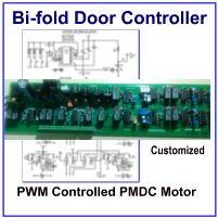 PWM Controlled 3 Speed Automatic Bi-fold Door Controller