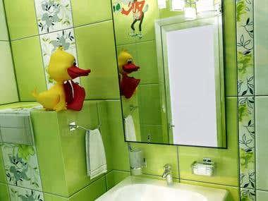 3D baths