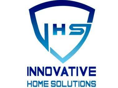 Logo Design For IHS Alarm Company