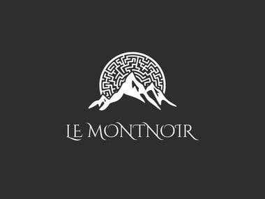 Le Montnoir Logo design