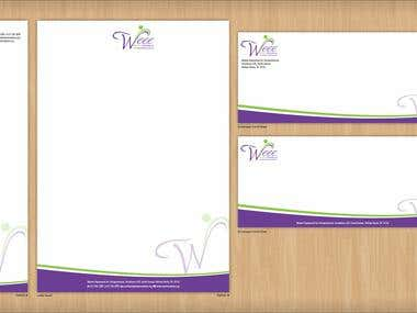 Wee Stationery Design Concept