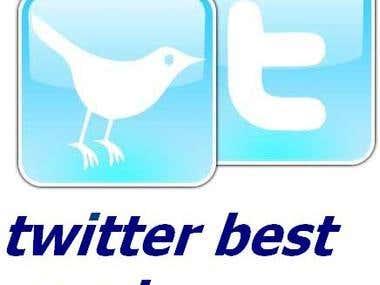 Twitter best service