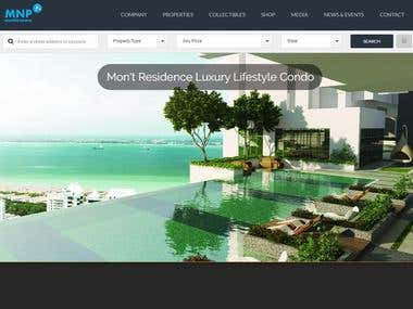 Estate Company Website