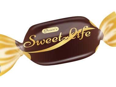 Candy Packet Design - Sweet Life