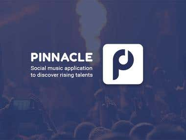 Pinnacle. Social music app.