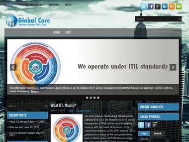 Global Core Website