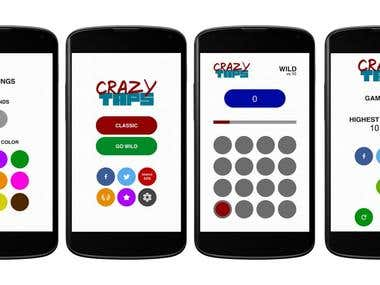 Crazy Taps Android & iOS App