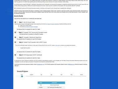 PHP Data Management Website