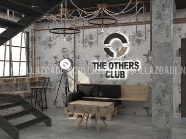 The Other Club Interior Design and 3D