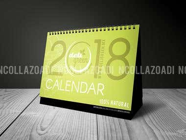 Calendario DeliGreen Mexico