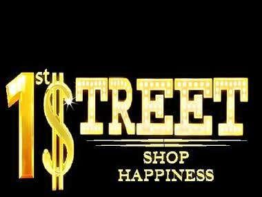 Logo for 1st Street