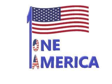 1 America Logo