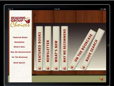 Reading group choice books ipad app