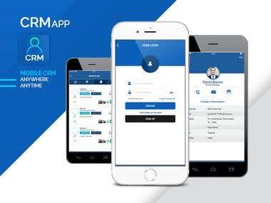 CRM app