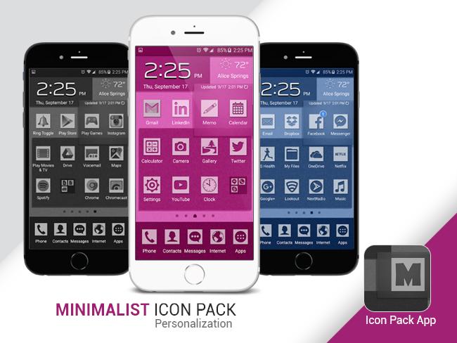 Minimalist Icon Pack   Freelancer