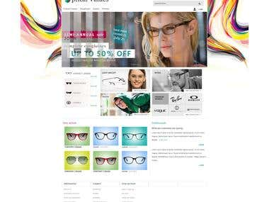 Des. & Dev. for Optical Value(Magento)