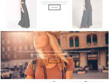 Website Designs - eCommerce/Online Store/Basic/Informative