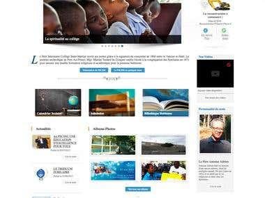 Petit Séminaire Collège Saint-Martial - Site web